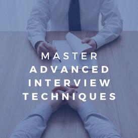 topg master advanced interview techniques